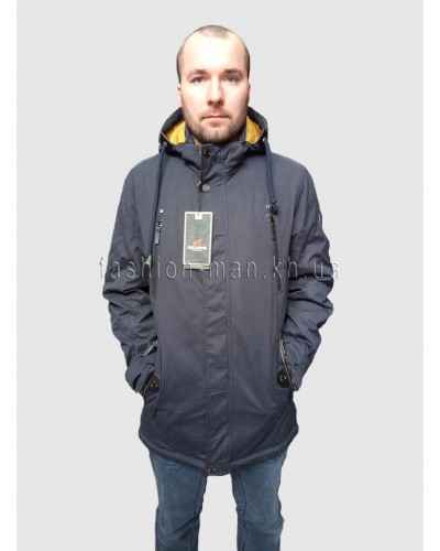 Демисезонная куртка D-52 Синий