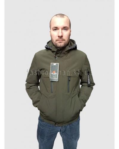 Демисезонная куртка H-178 Хаки