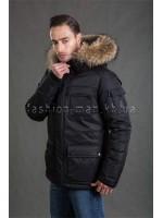 Теплая зимняя мужская куртка НР-176