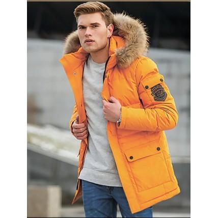 Яркая зимняя куртка HB-152