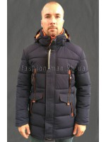 Удлинненная зимняя куртка 0018