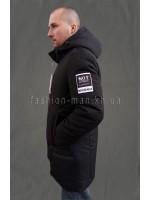 Мужская зимняя куртка с капюшоном 031