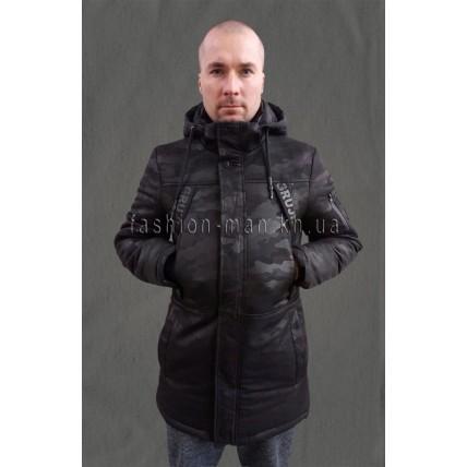 Зимняя куртка камуфляж 1738
