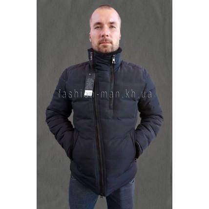 Стильная зимняя куртка-косуха Т-275