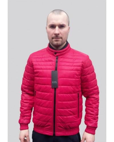 Демисезонная куртка яркого цвета T-132