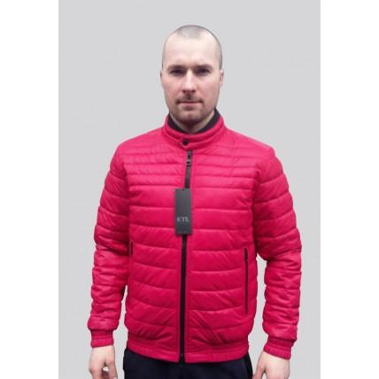 Демисезонная мужская куртка яркого цвета Т-132